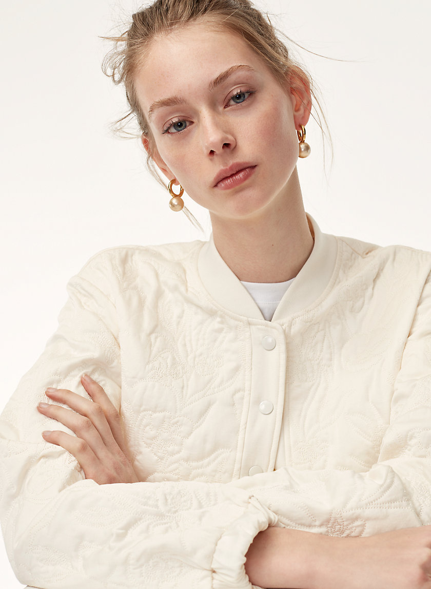 Little Moon SAGE BOMBER | Aritzia