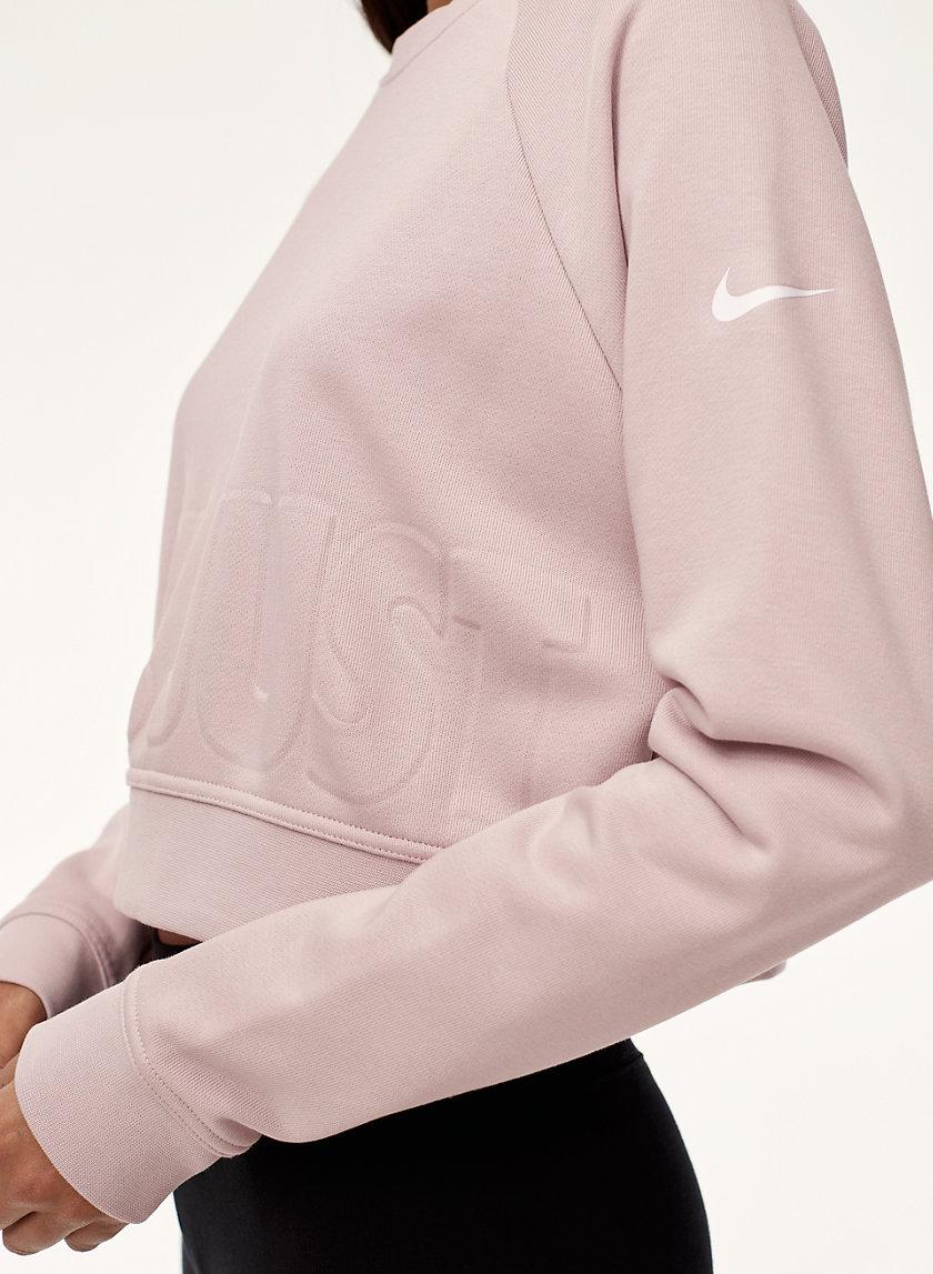 Nike VERSA CROP SWEATSHIRT | Aritzia