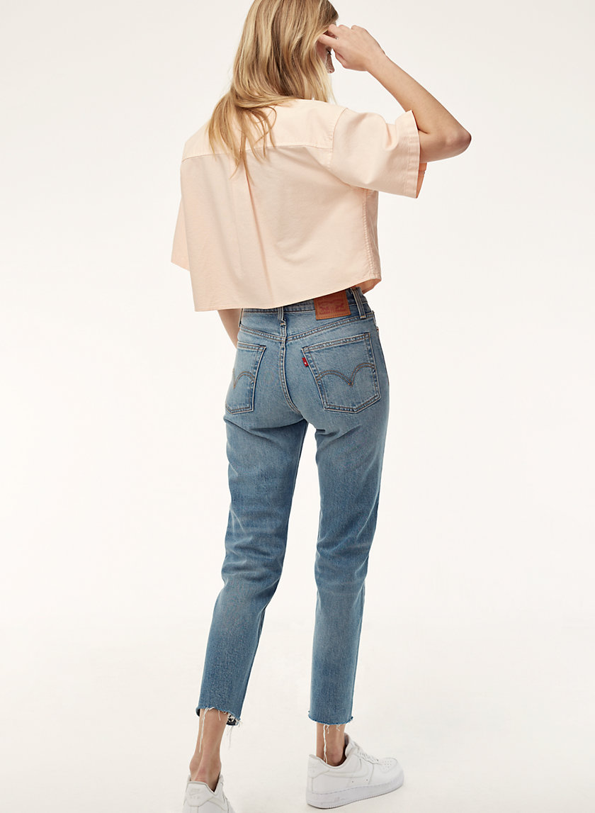 Levi's STRAIGHT WEDGIE ROUGH | Aritzia
