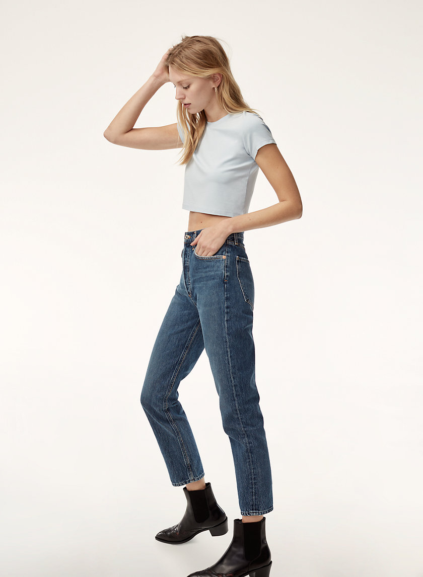 AGOLDE RILEY AIR BLUE | Aritzia