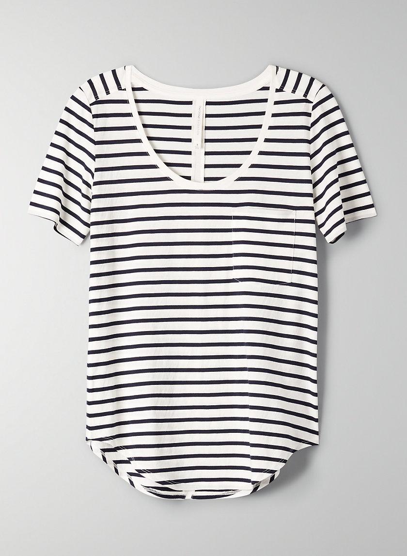 SAMI T-SHIRT - Short-sleeve, scoop-neck T-shirt