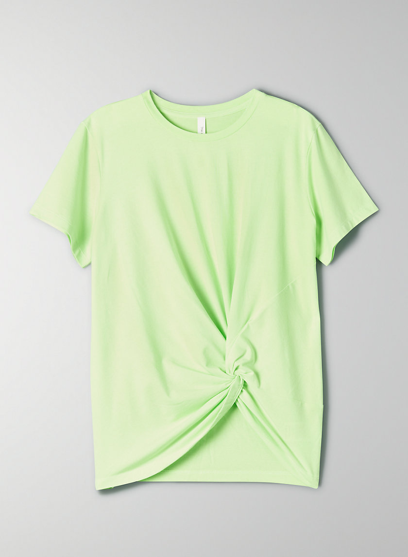 FOUNDATION KNOT TEE - Knotted t-shirt