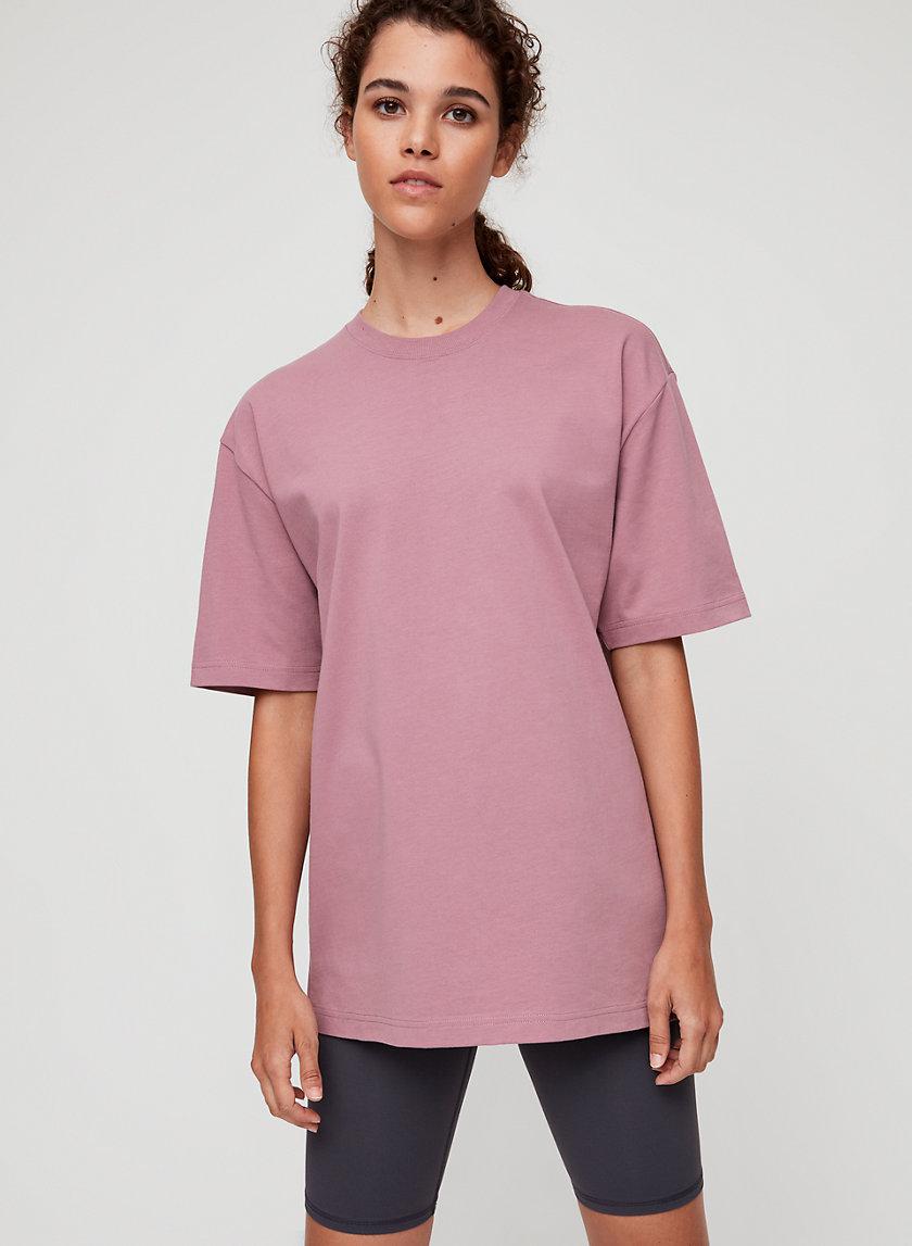 CELESTE T-SHIRT - Oversized, crewneck t-shirt
