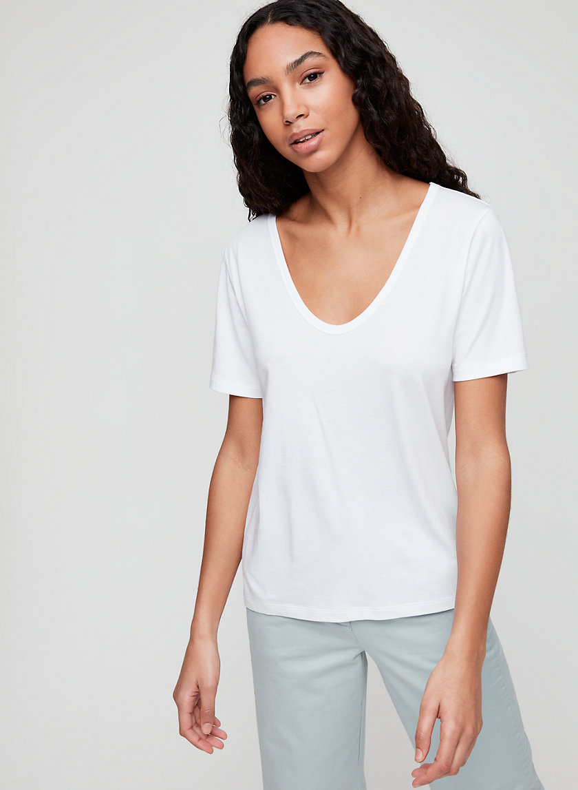 The Group by Babaton ALISON V-NECK | Aritzia