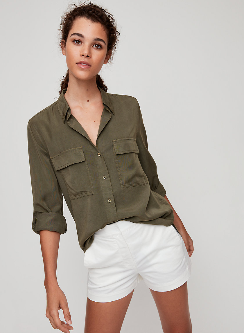 UTILITY BUTTON-UP - Button-down shirt
