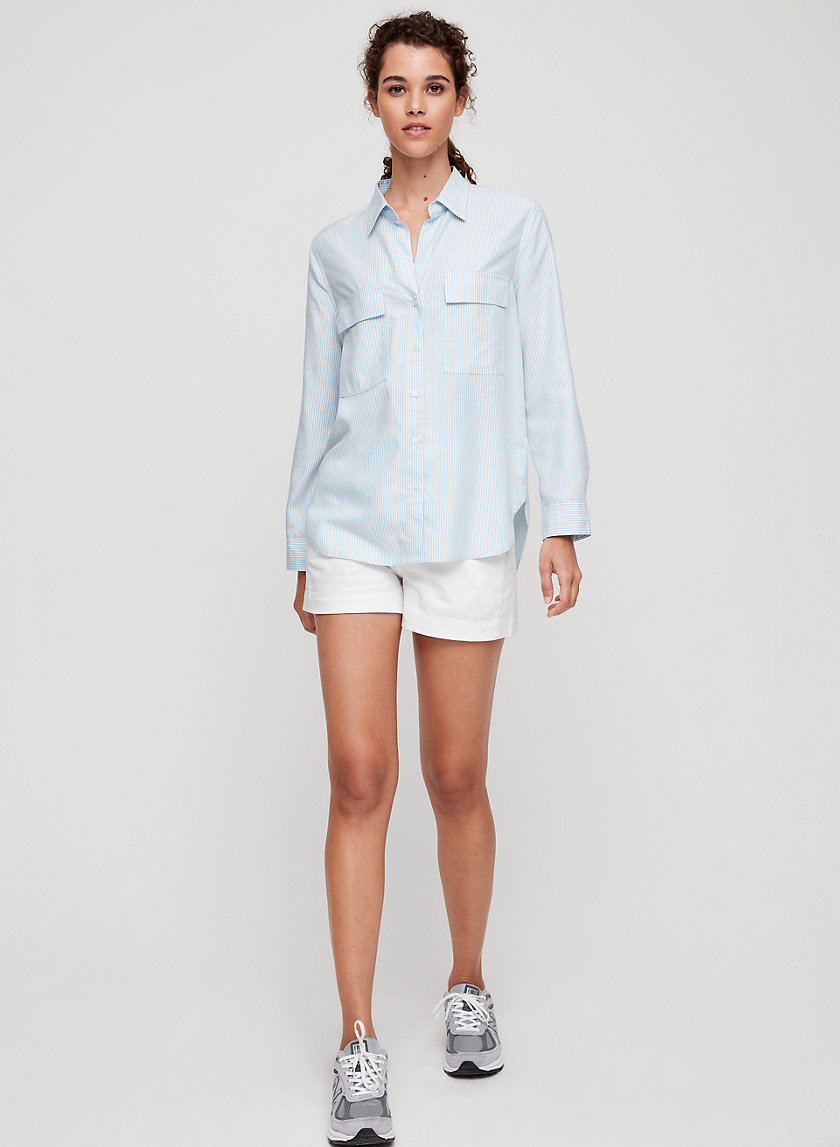 The Group by Babaton ROMM SHIRT | Aritzia