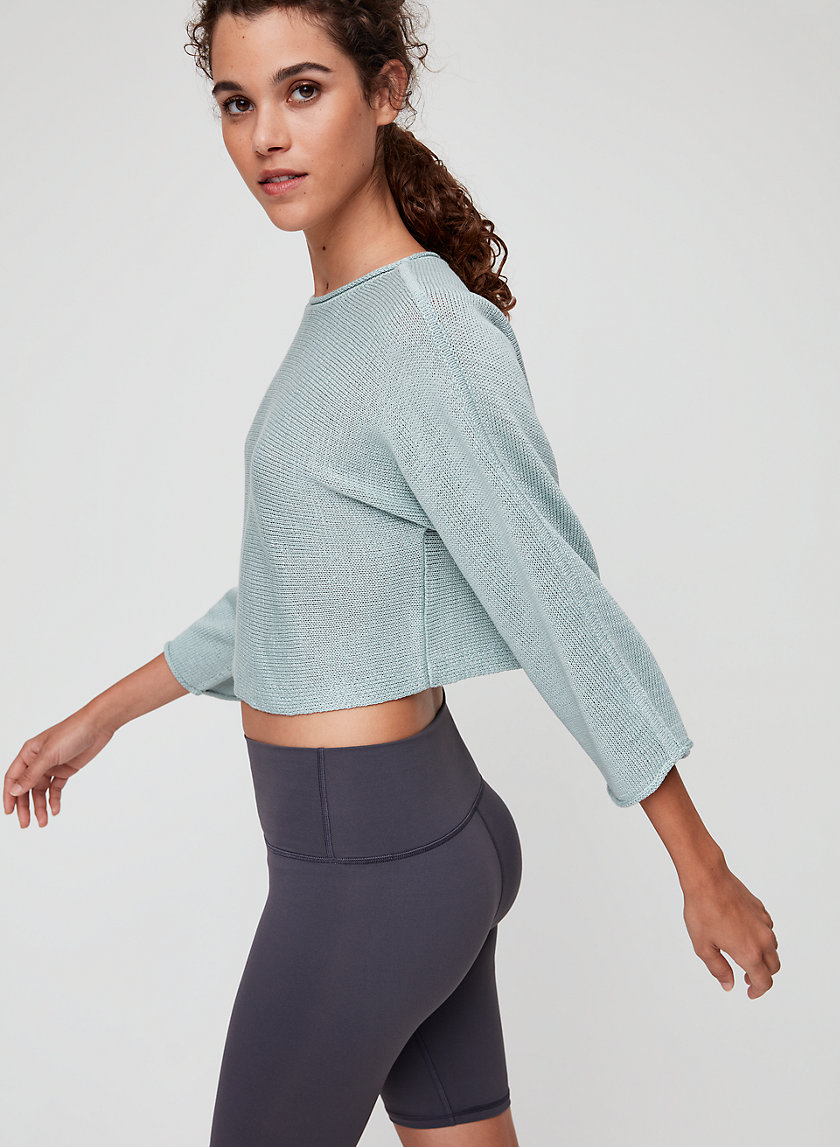 MARIANNA SWEATER - Cropped knit sweater