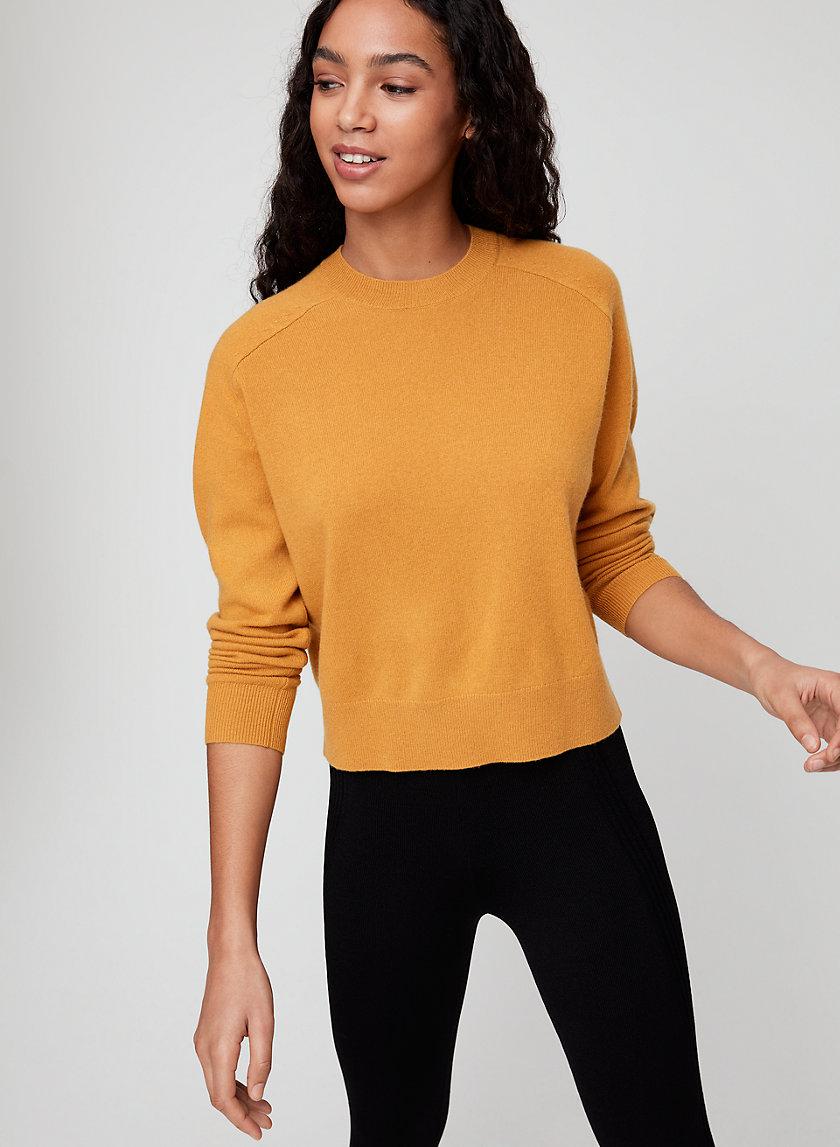 LUXE CASHMERE CREW - Cashmere crewneck sweater