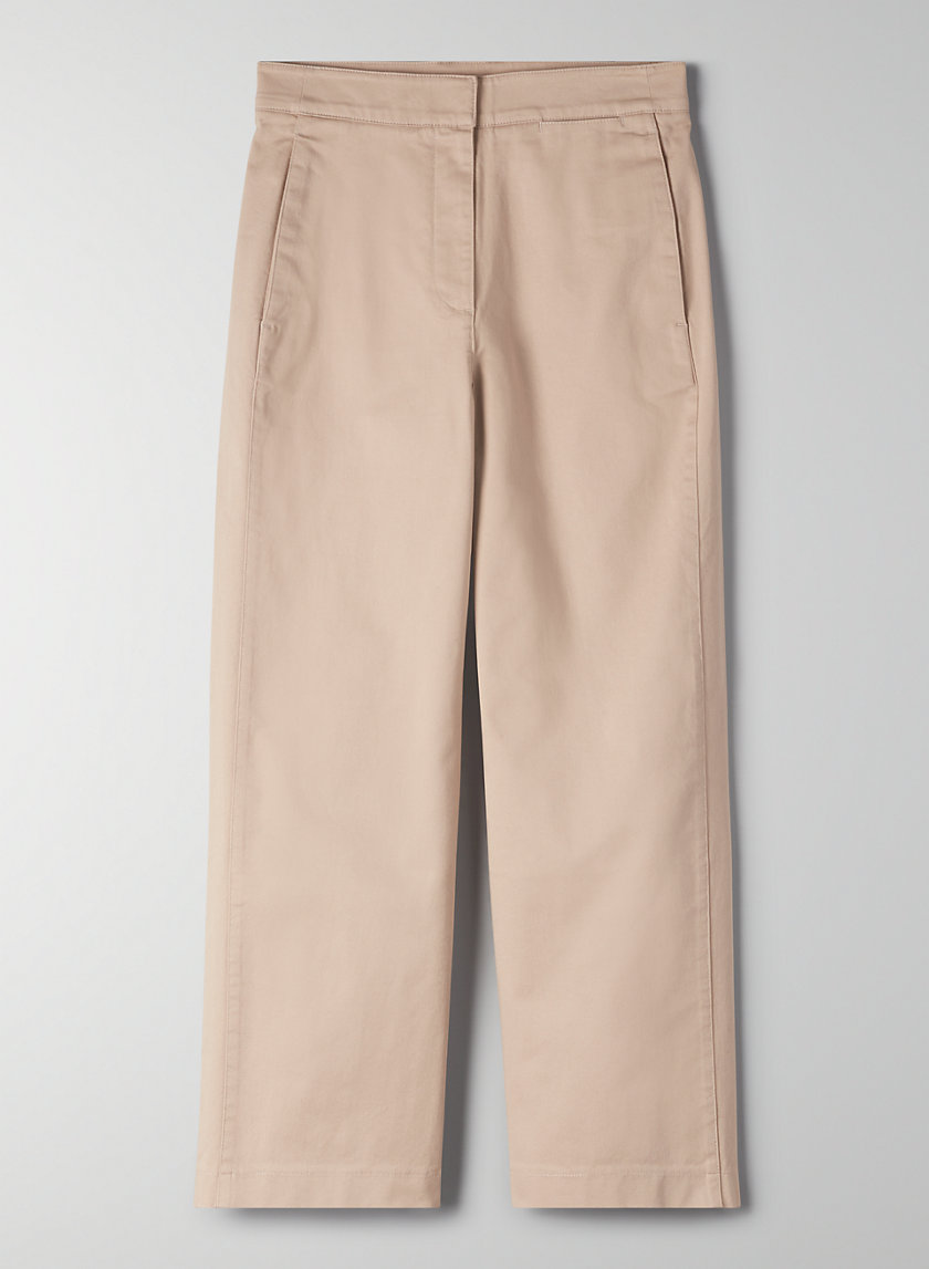 WALSH PANT - Cropped, wide-leg pant