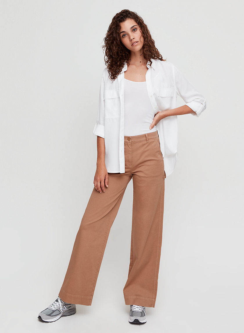 OLYMPIA PANT - High-waisted, wide-leg carpenter pant