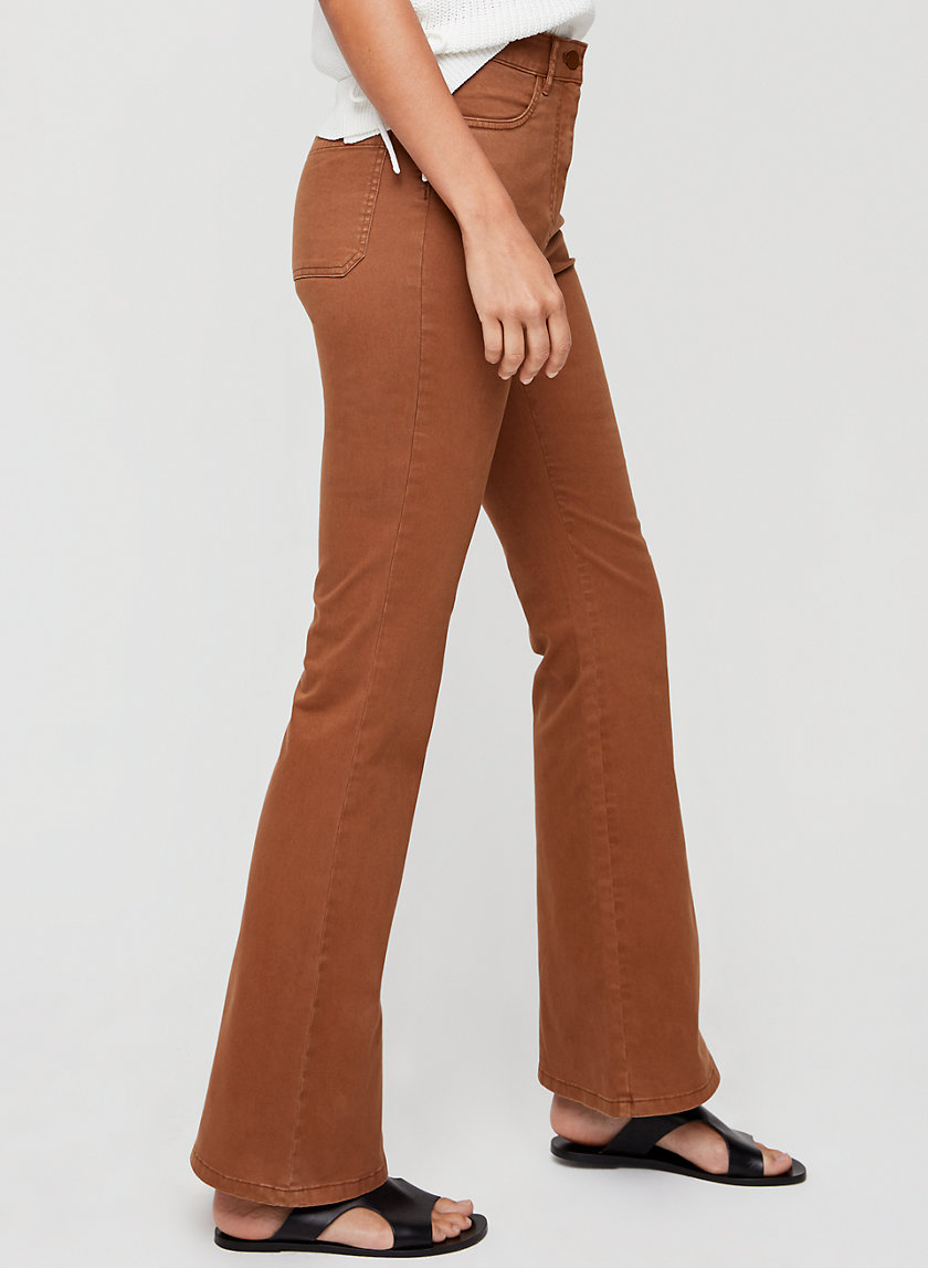 JILLY PANT - High-waisted, flared pant