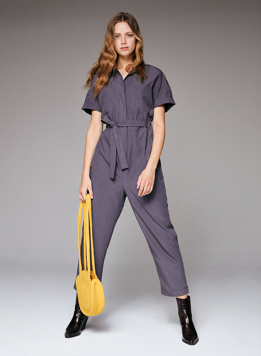 The Group by Babaton RONNIE JUMPSUIT | Aritzia