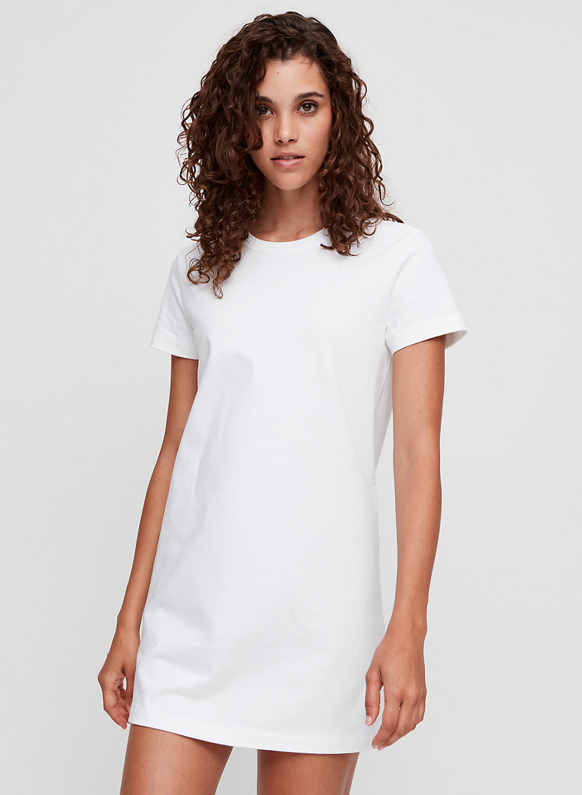 ALVENA DRESS - Soft, cotton t-shirt dress