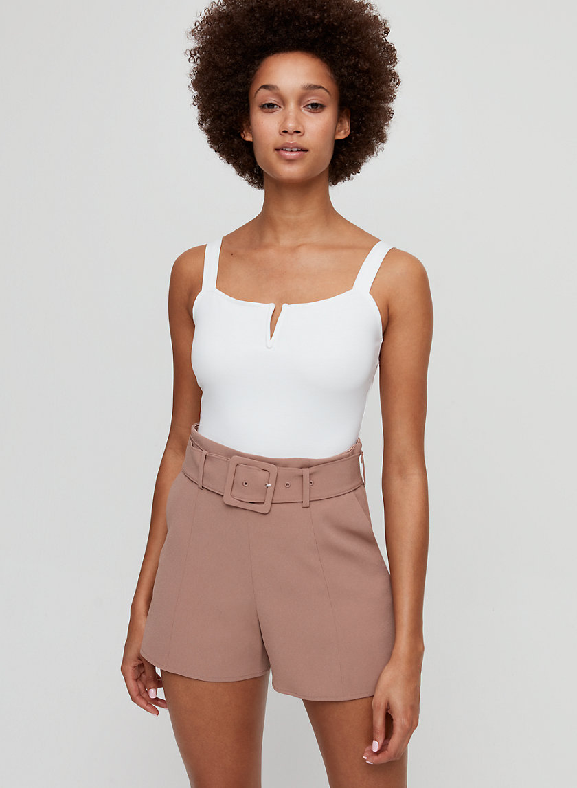 NOTCH BODYSUIT - Square-neck bodysuit
