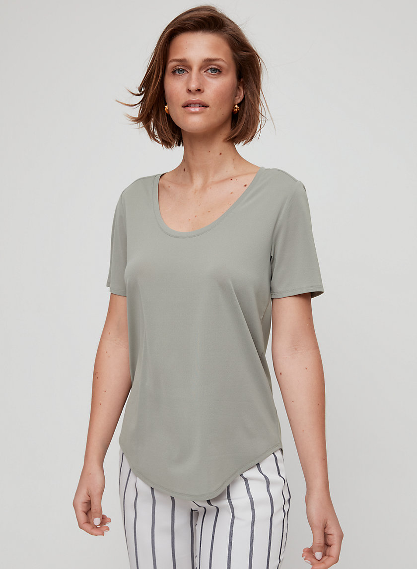 SAMI T-SHIRT - Scoop Neck T-Shirt