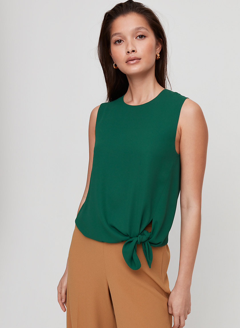 Babaton HOPKINS BLOUSE | Aritzia