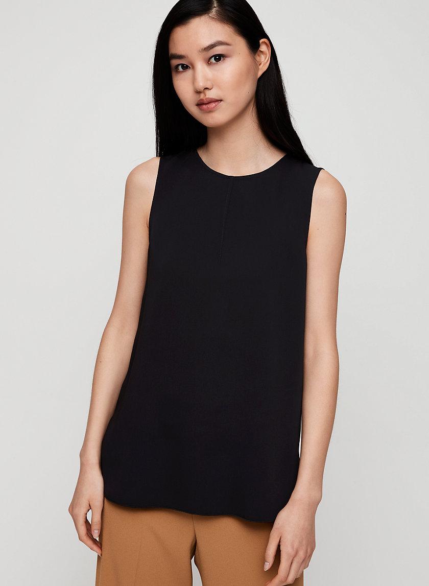 WIELAND BLOUSE - Sleeveless blouse