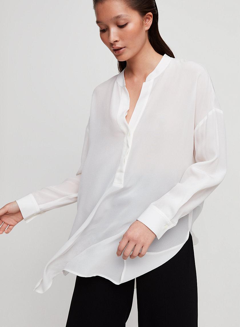 ROLAND BLOUSE - Popover tunic blouse