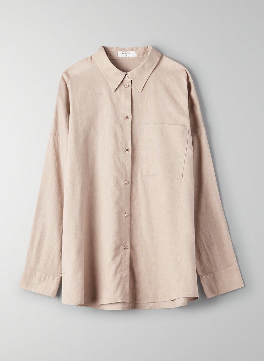 PIERRE BLOUSE - Button-up utility shirt