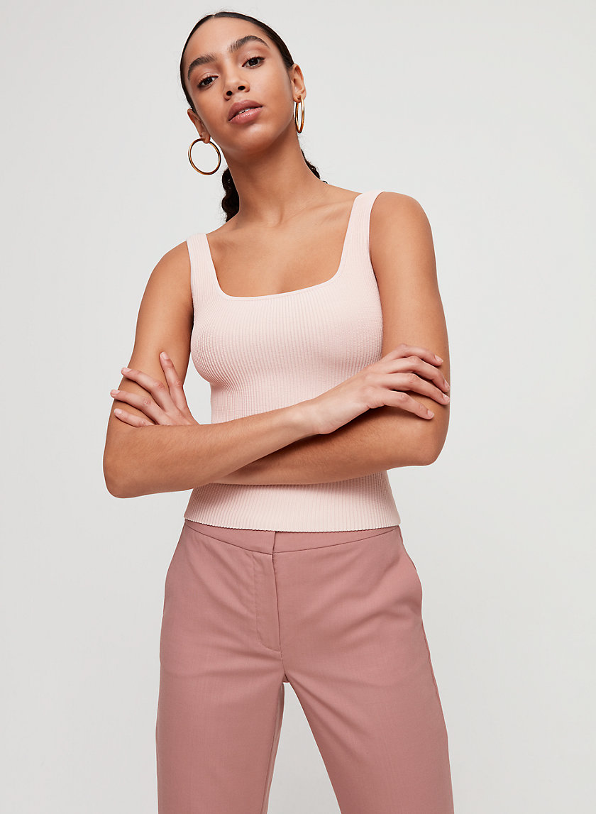 Babaton ARJUN LONG KNIT TOP | Aritzia