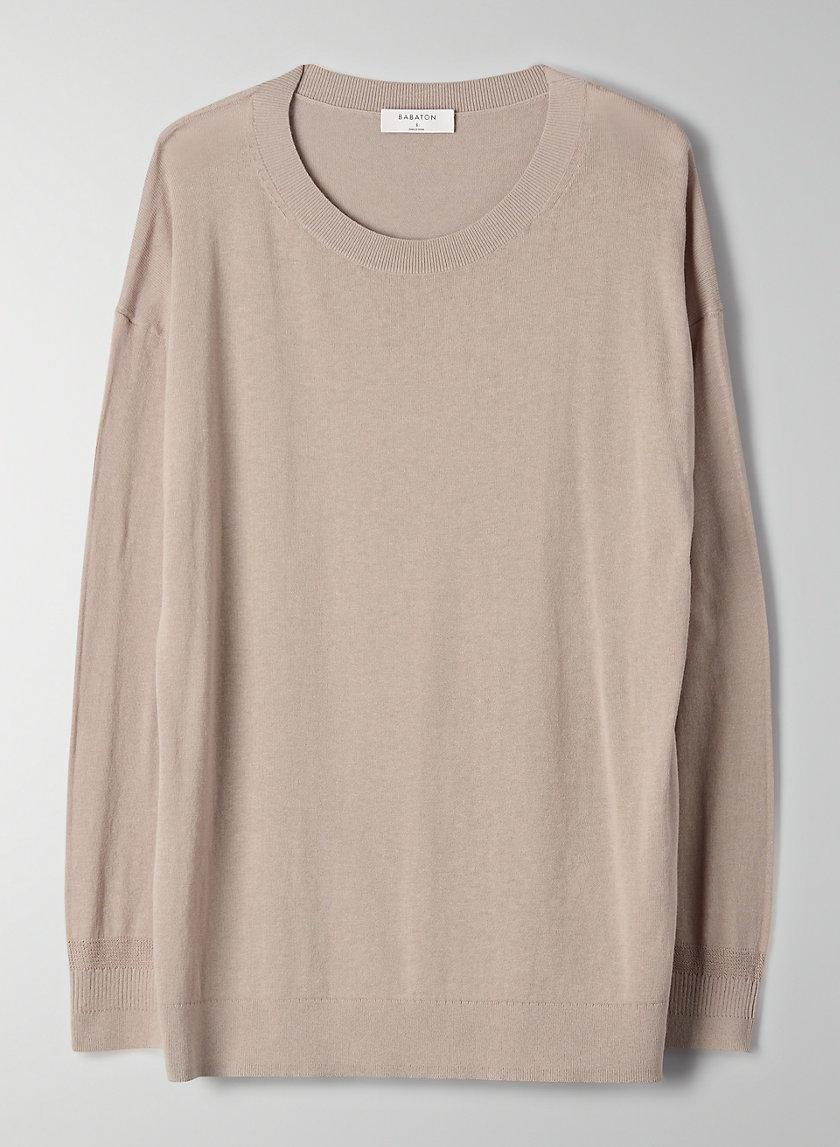 PATRICK SWEATER - Cotton-blend crewneck sweater