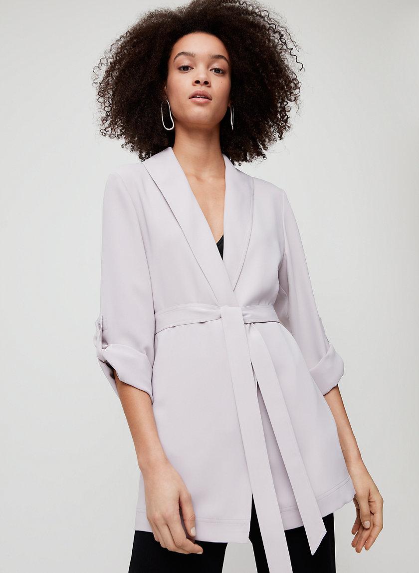 KAHLO ROBE MID - Mid-length, robe jacket
