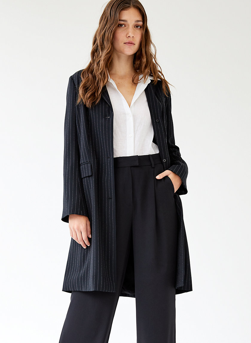 TRENT JACKET - Stripped blazer jacket