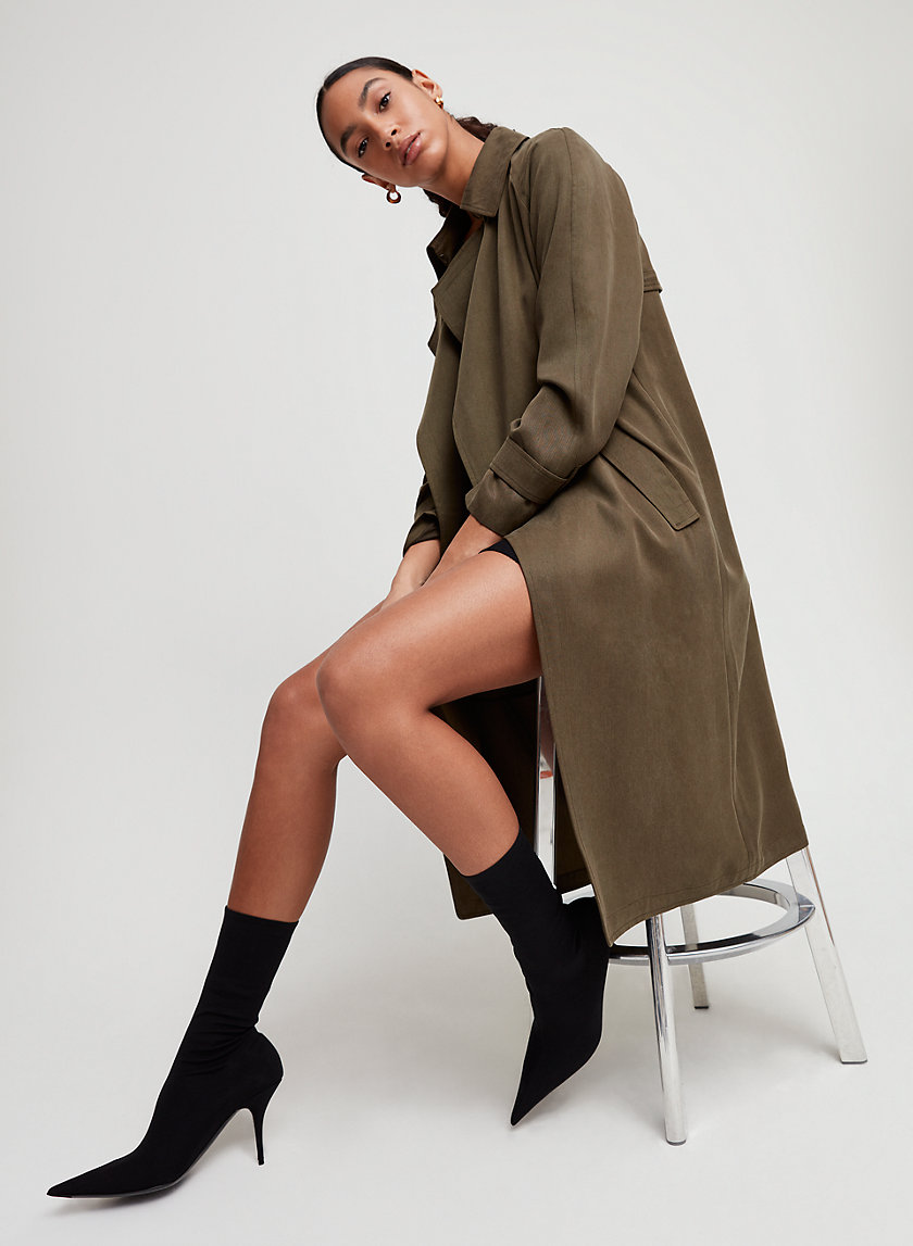 Babaton LAWSON TRENCH COAT | Aritzia