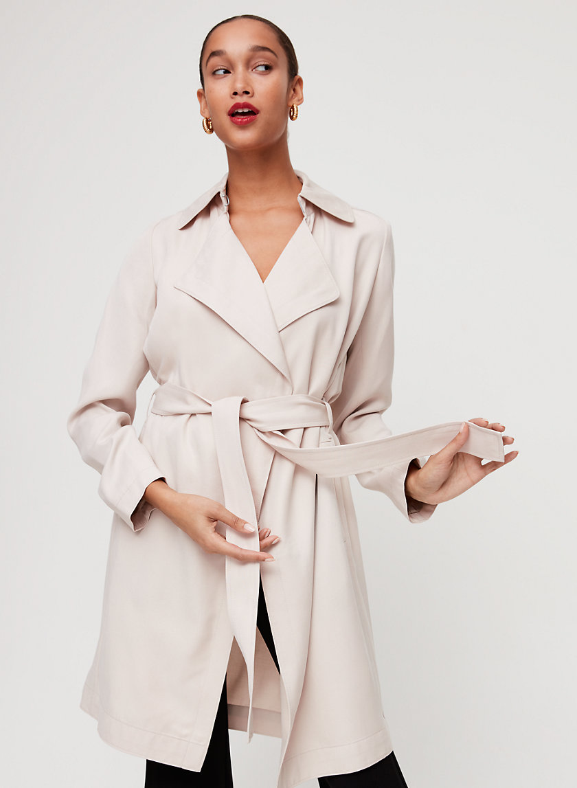 MAXIMO TRENCH COAT - Flowy, lightweight trench coat