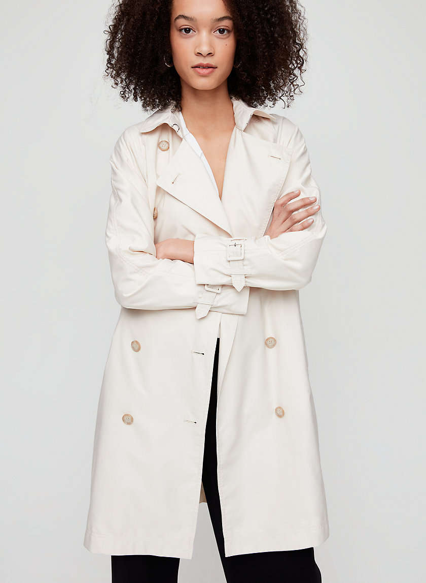 THEODORE TRENCH COAT - Double-breasted trench coat