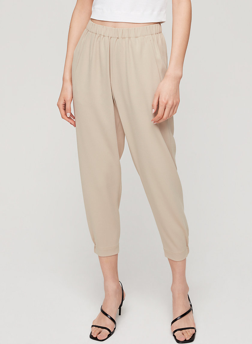 DEXTER PANT TERADO - Cropped, crepe dress pant