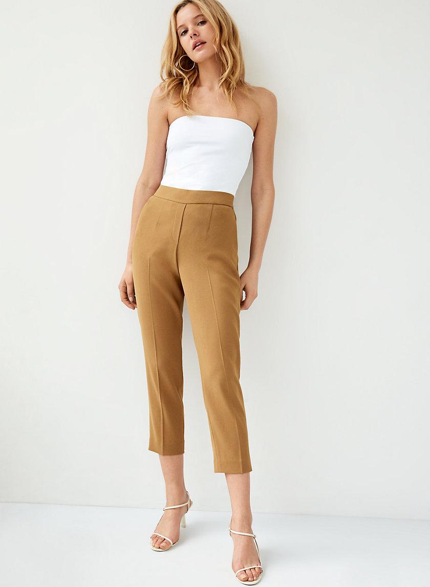 CONAN PANT TERADO - Cropped, slim-fit dress pant