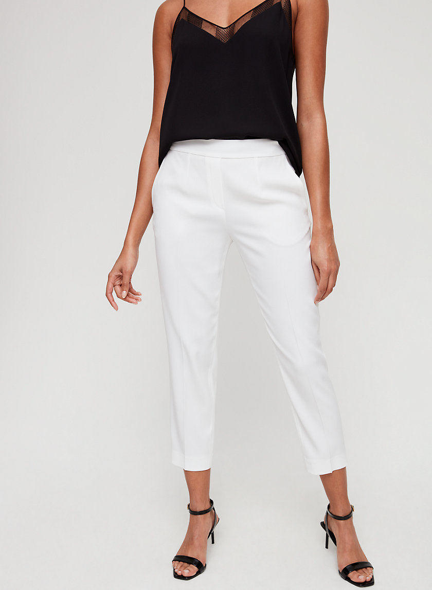 CONAN PANT - Cropped, slim-fit dress pant