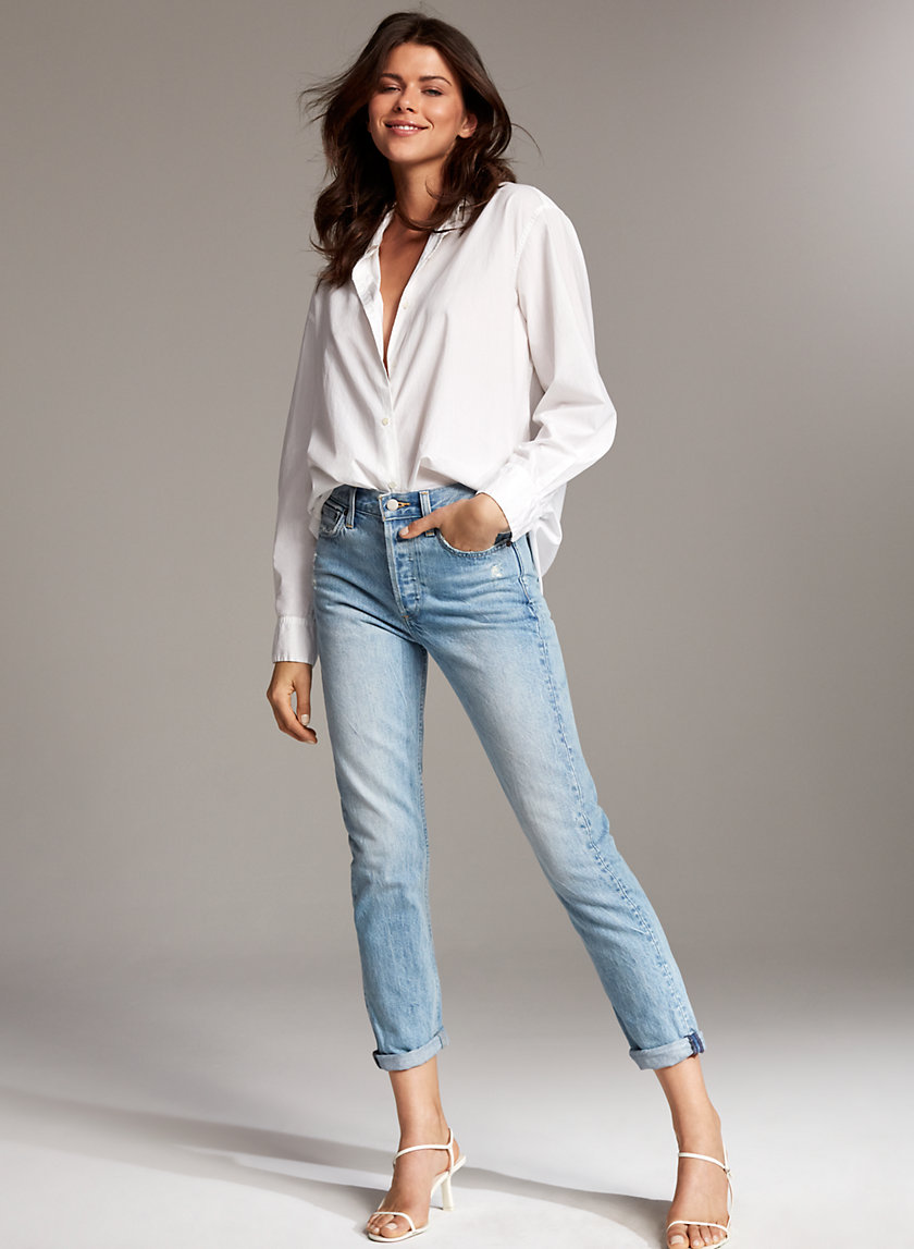 THE EX BOYFRIEND - High-waisted, slightly tapered jean
