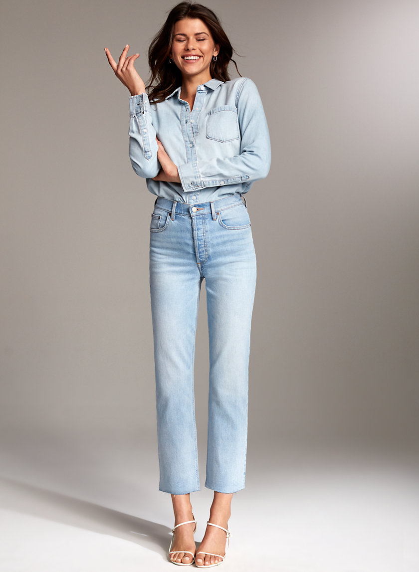 Denim Forum THE ARLO STRAIGHT | Aritzia