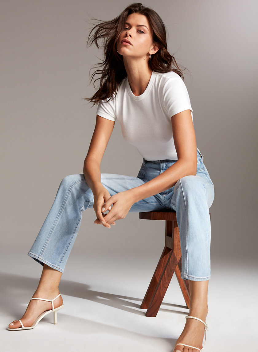 Denim Forum THE 70S RETRO CHEEKY | Aritzia