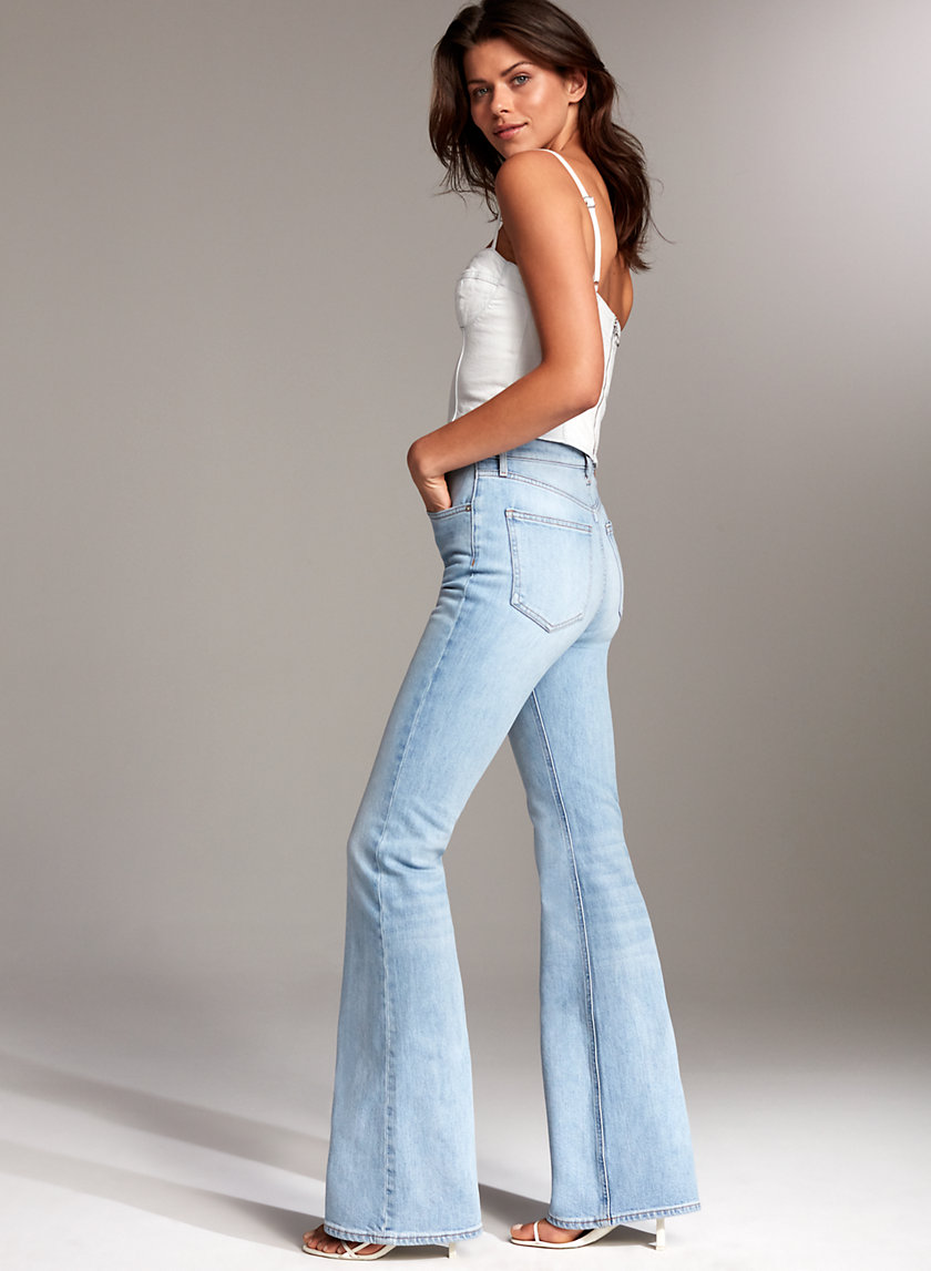 THE MARIANNE FLARE - High-waisted flare jean