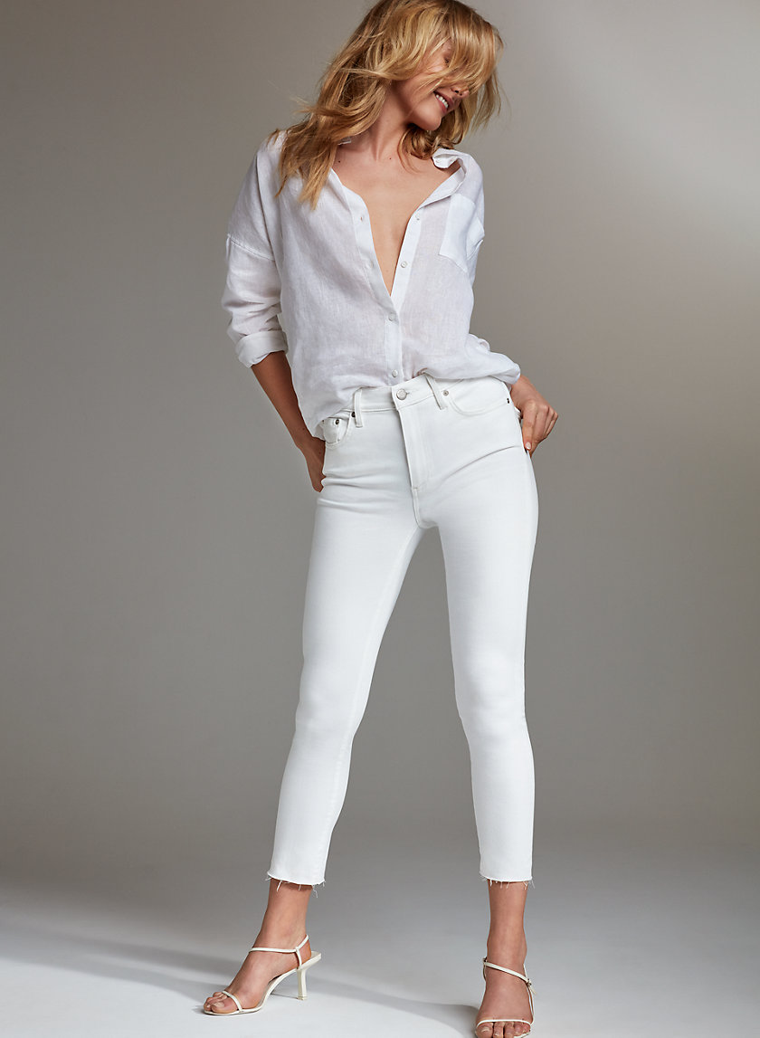 THE NICO MID CROP - Cropped, mid-rise jean