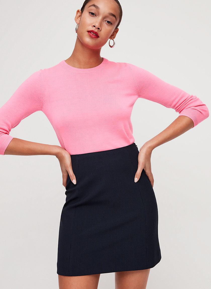 HOPPER SKIRT - Plaid, A-line mini skirt
