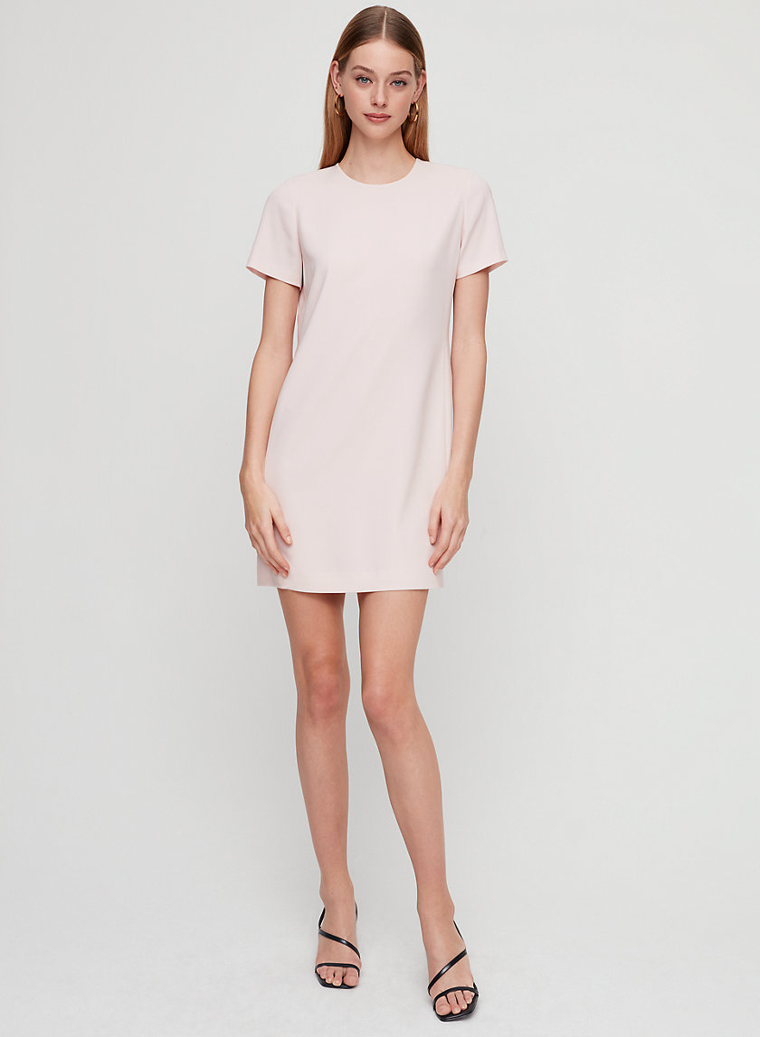 PATRICIO DRESS - Crepe T-shirt dress