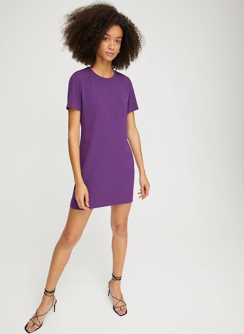 PATRICIO DRESS - Crepe T-shirt dress