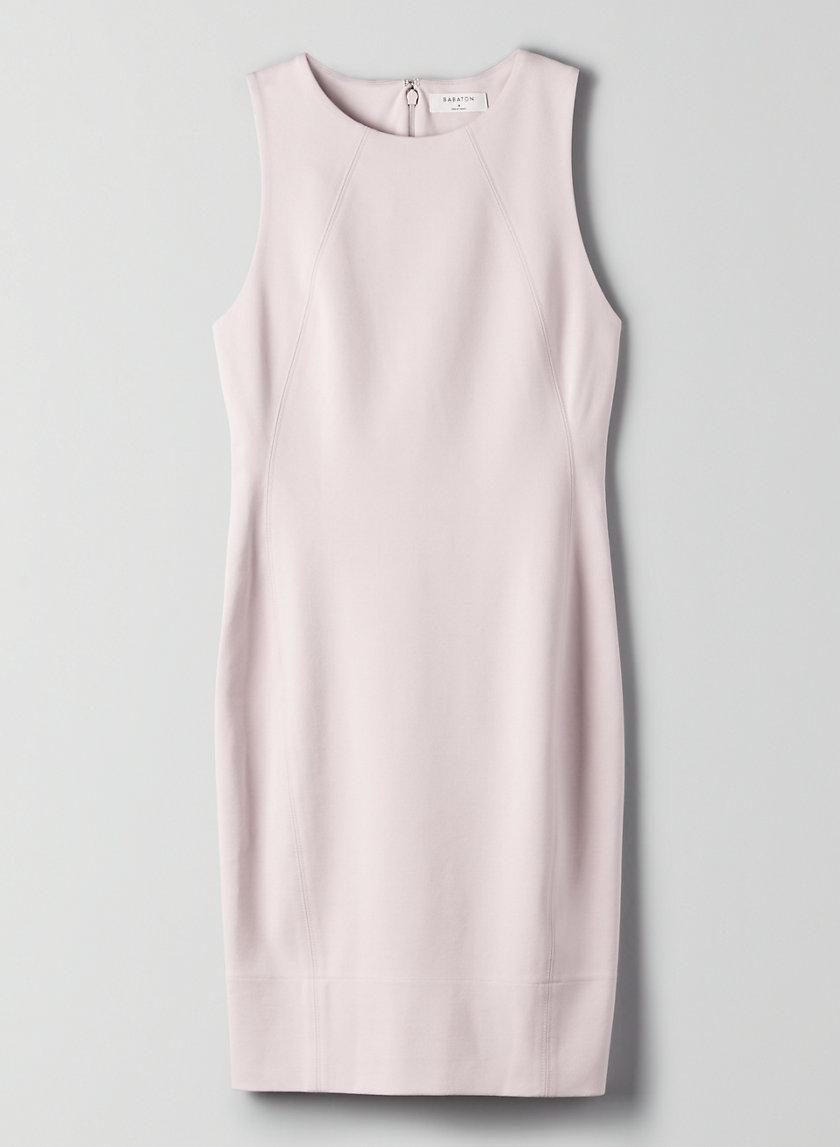 MIGUEL DRESS - Knee-length, slim, tailored dress