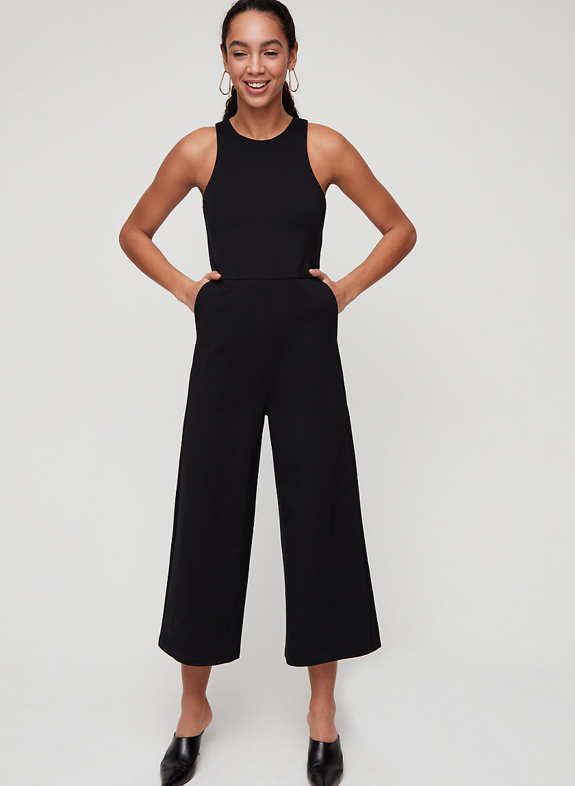 MIKEY JUMPSUIT - Wide-leg jumpsuit with pockets
