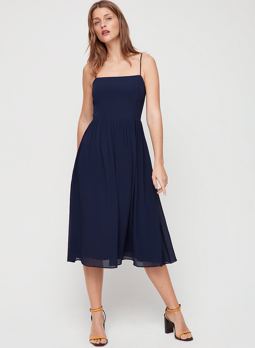 NOEL DRESS - Fit-and-flare, midi dress