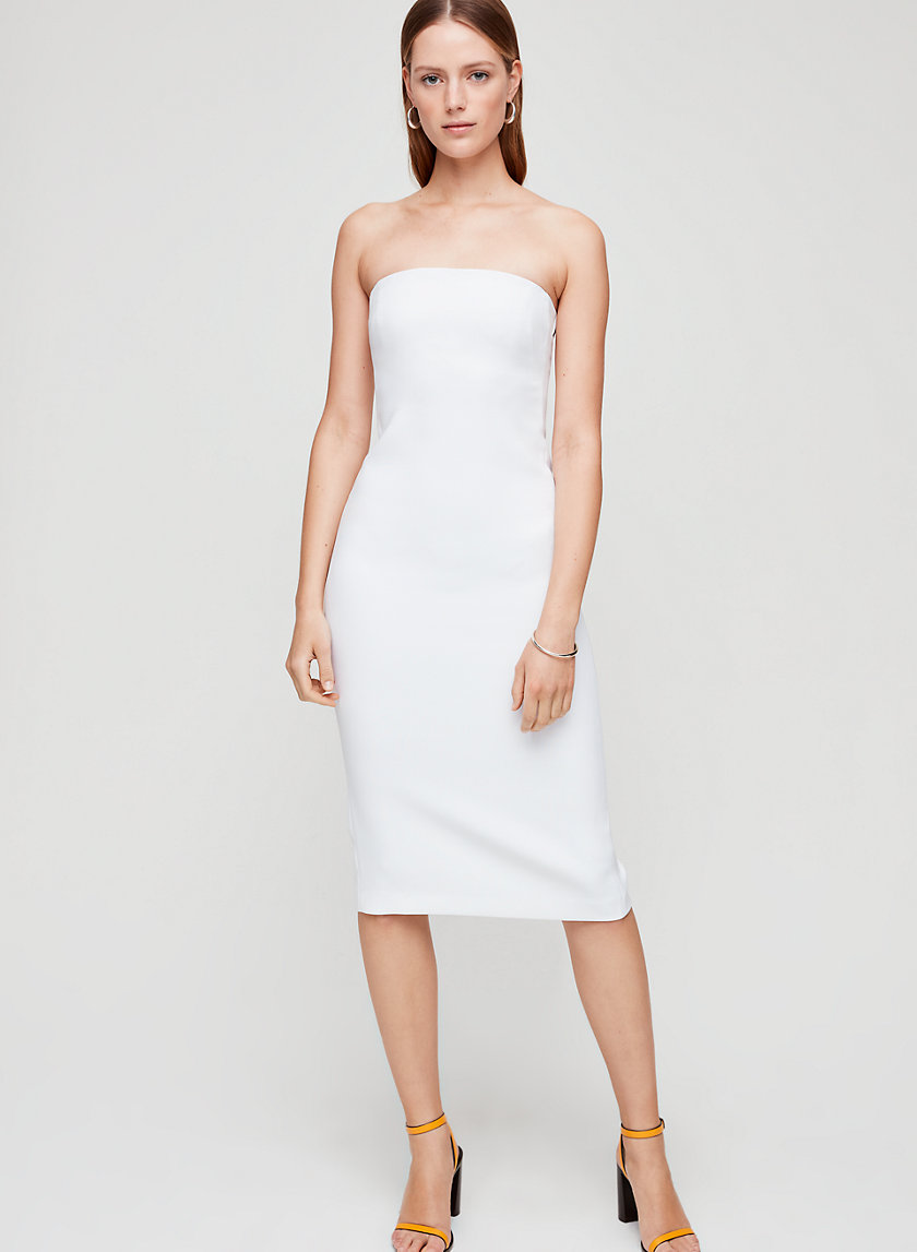 BREES DRESS - Strapless bodycon dress