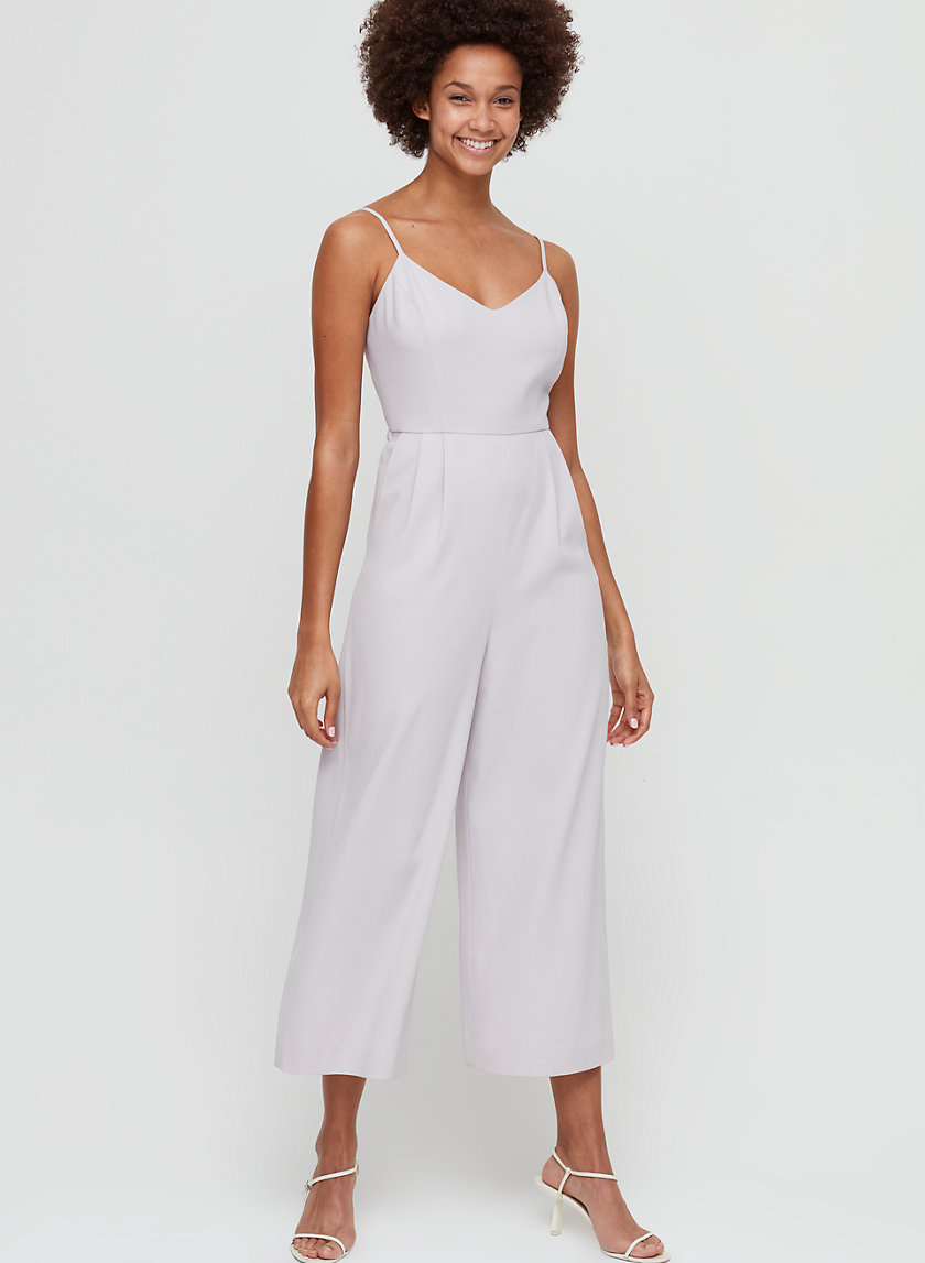 ARVID JUMPSUIT - Cropped, wide-leg jumpsuit