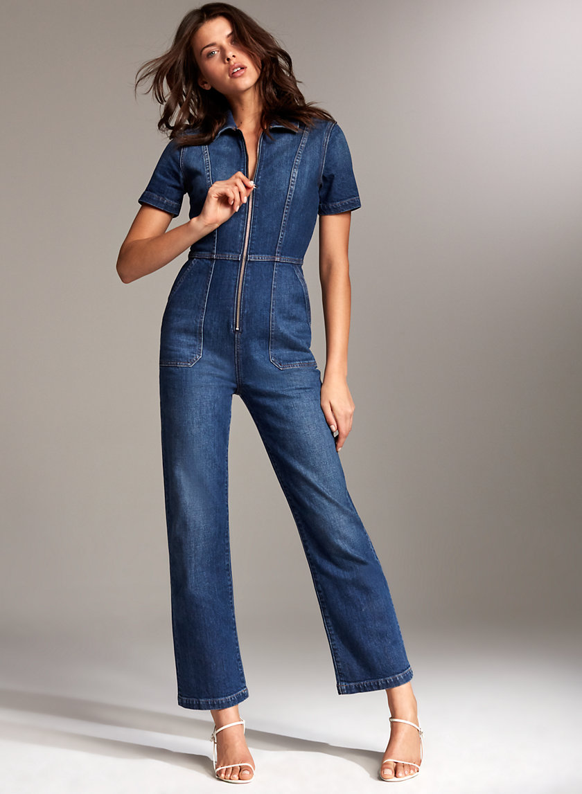Denim Forum THE FRANCOISE JUMPSUIT | Aritzia