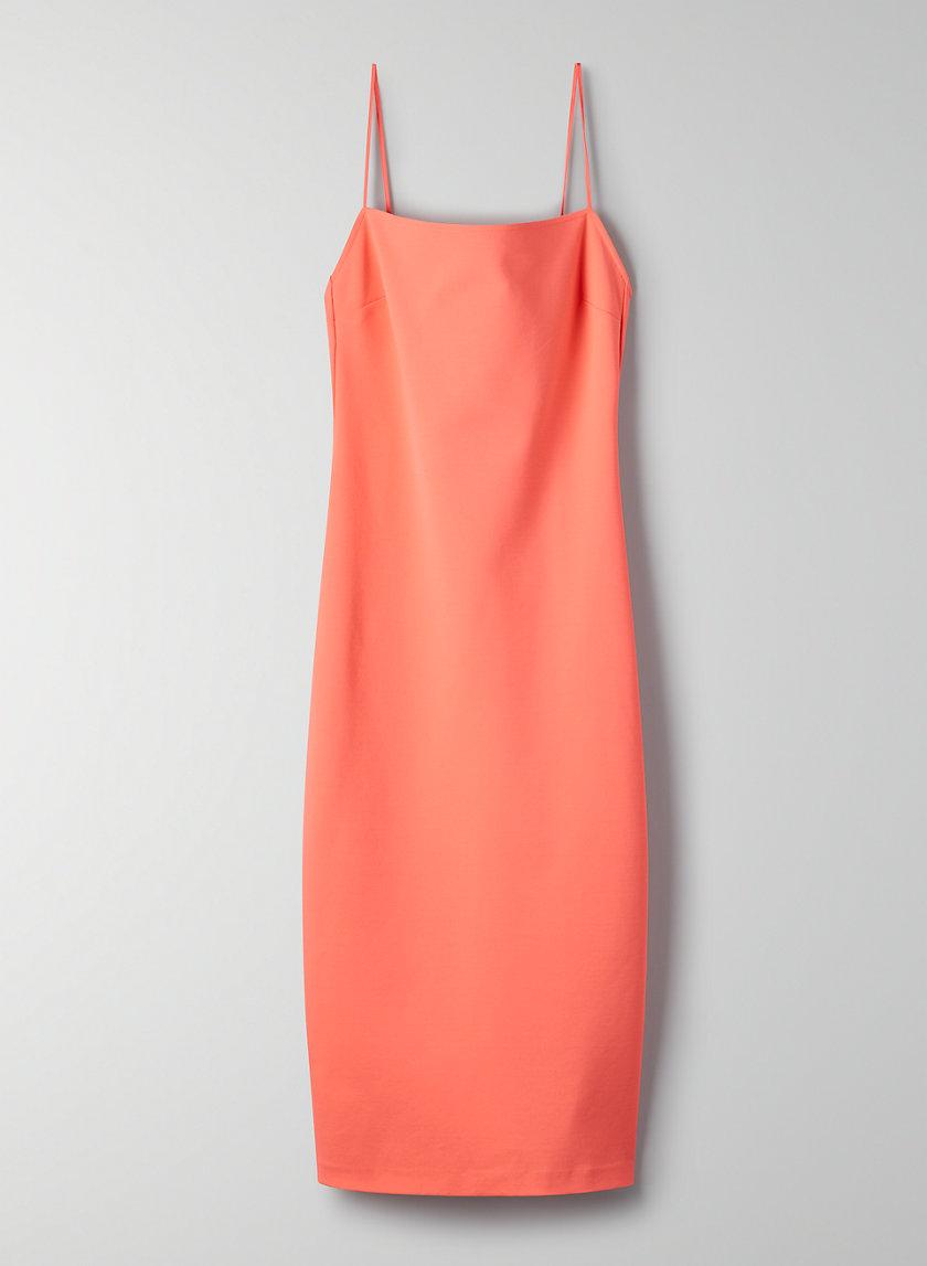 JULIUS DRESS - Slip dress with slit
