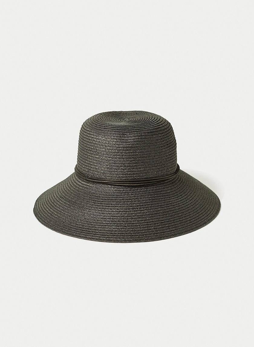 EAU CLAIRE HAT - Packable straw hat