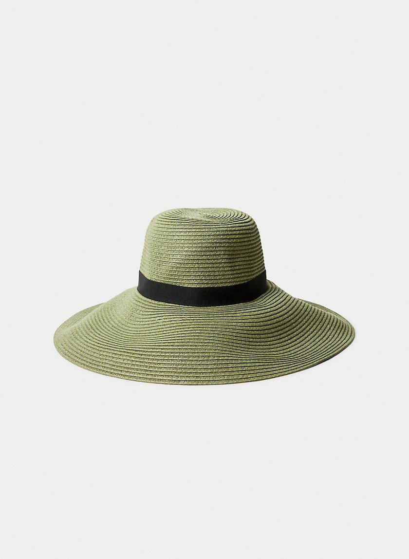 RAVEN STRAW HAT - Floppy packable hat